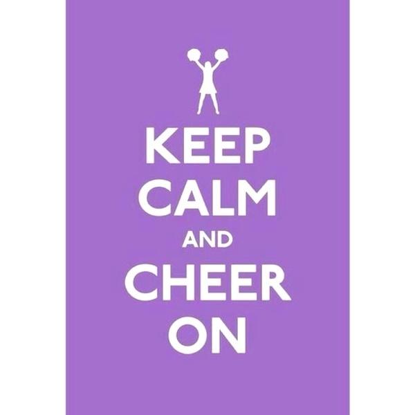 Cheer cheer cheeer.