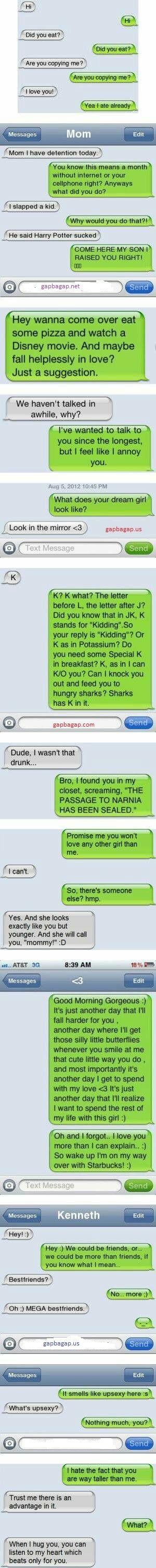 Top 10 #Hilarious Text Messages
