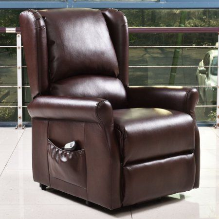 Goplus Lift Chair Electric Power Recliners Reclining Chair Living Room Furniture