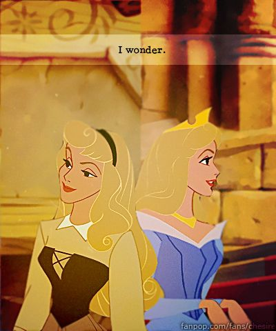 Sleeping Beauty - favorite!  And the blue dress... so many things are right with this picture.