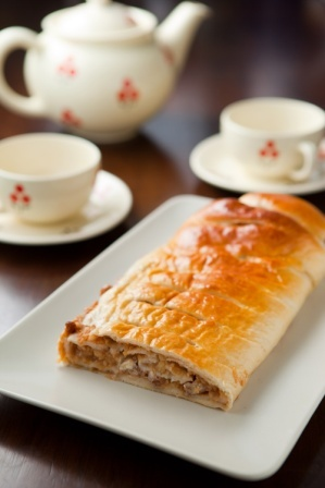 Traditional Czech dessert: Strudel