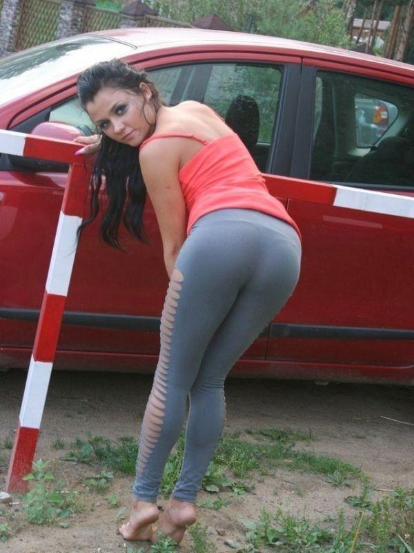 Sexy Women In See Thru Tops