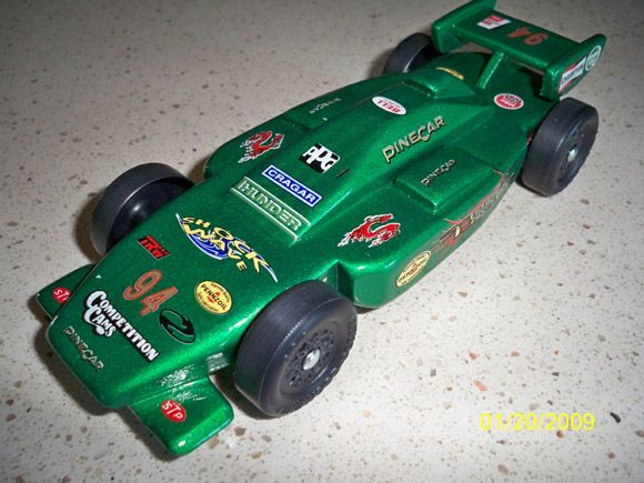 pinewood derby car designs indy roadster pinewood derby car kit completed