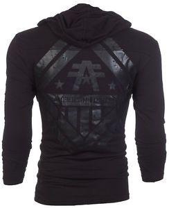 American Fighter AFFLICTION Men Hoodie Sweatshirt Jacket AVERETT Biker UFC S-3XL