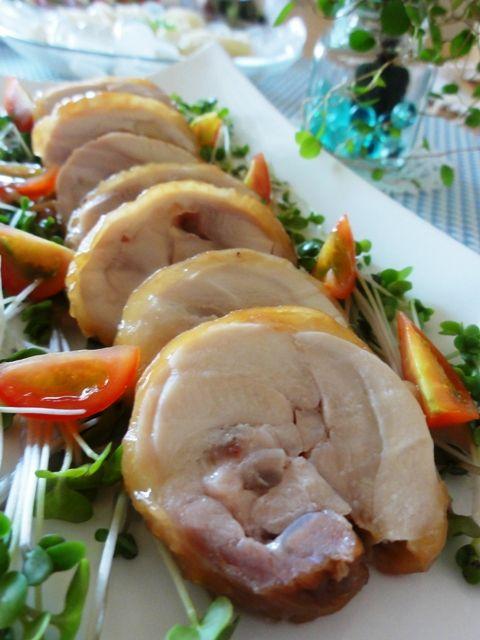 レンジで簡単♪鶏肉チャーシュー。 | 美肌レシピ