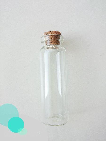 Weiteres - Vials Glas 22x67mm x10-Einheiten - ein Designerstück von atelier-house-decor bei DaWanda
