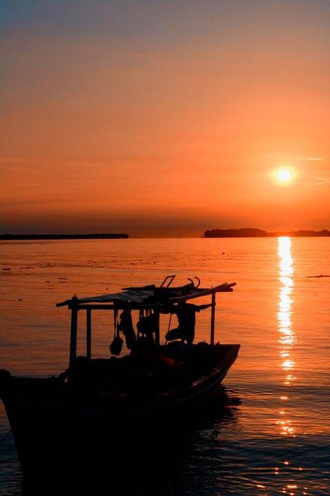 Sunset Pulau Bira - Kep Seribu  -
