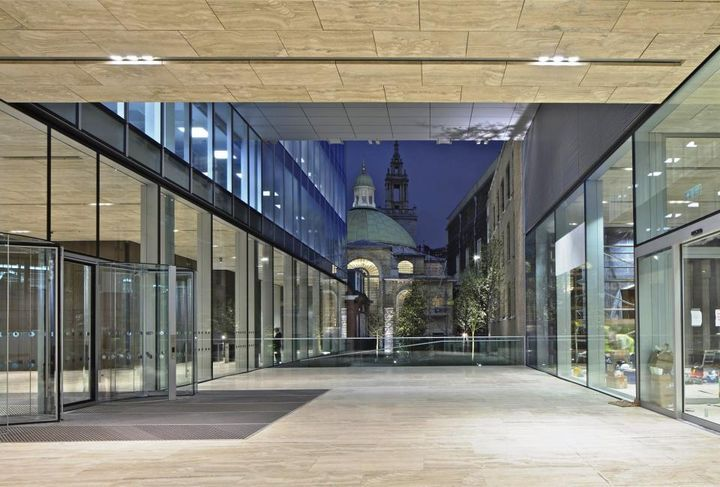 http://www.architecturelover.com/2012/05/rothschild-bank-headquarters-by-oma/  #architecture #architect #offices #united_kingdom