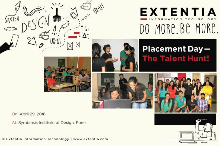 Here's looking forward to Placement Day on Friday, where we check out individual candidates' talent for #design. :)  www.extentia.com