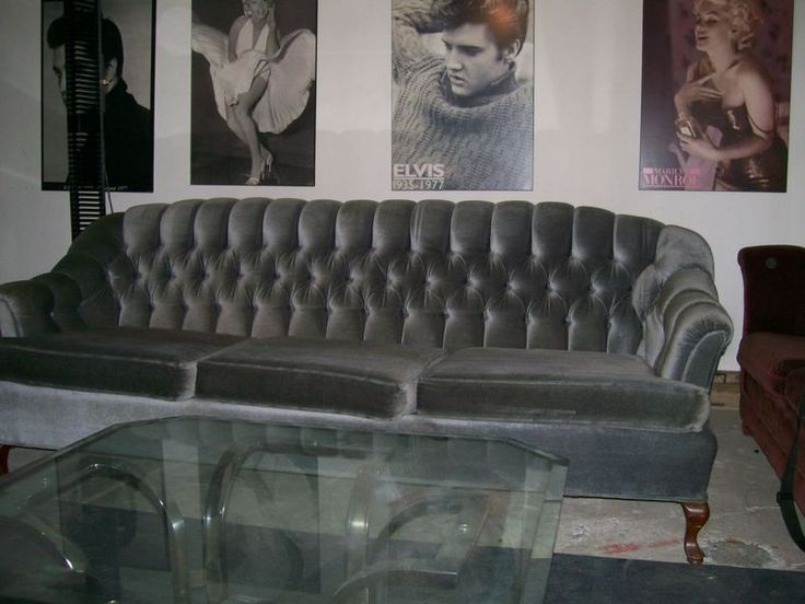 Luxury French Button Tufted Beds | Vintage Tufted Sofa