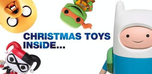 Christmas Inside: Great Toy Recommendations @ ForbiddenPlanet.com