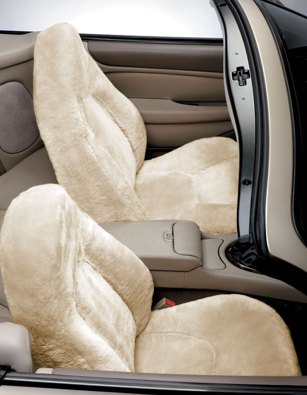 Blue Ribbon 5 Star Custom Sheepskin Seat Covers - Best Price on Tailor Made Sheep Skin Seat Covers