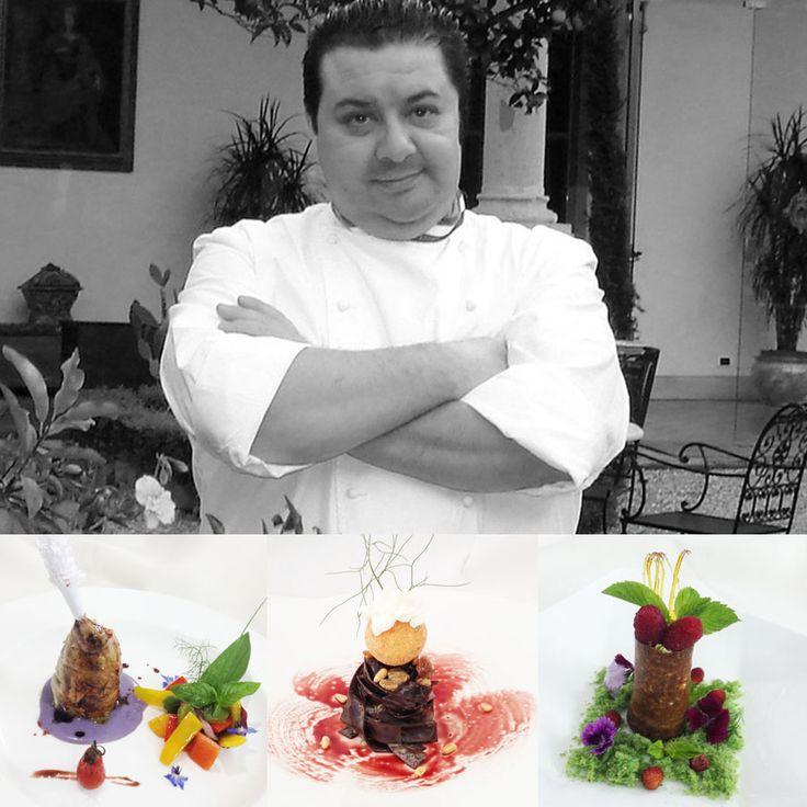 2 star - Chef Massimo Mantarro - Restaurant  San Domenico Palace Hotel - Taormina, Italy #italianfood #italianchef #italianrestaurant www.100ITA.com