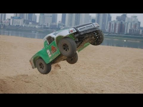 REDCAT RACING ELECTRIC RC TRUCKS GREEN CALDERA SC 10E 1/10 SCALE SHORT COURSE