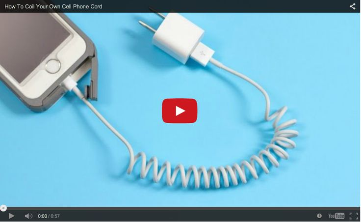 How To Coil Your Own Phone Cord (video included)