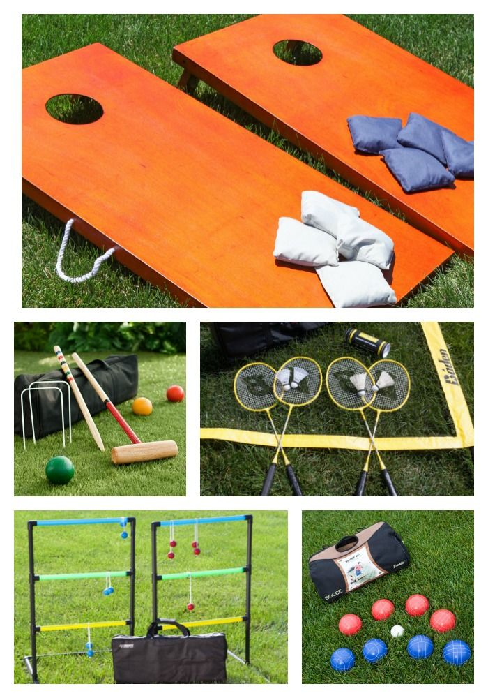 Add even more family fun to your barbecues, tailgates, and block parties! From cornhole to badminton, to bocce ball, hayneedle.com has all of your favorite yard games. Free shipping on all orders over $49.