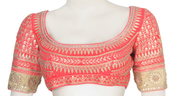 Pretty Choli Blouse with 'Gote ka kaam'
