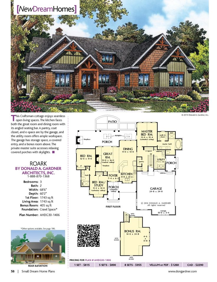 49 best House Plans under 1800 sq. ft. images on Pinterest | Home ...