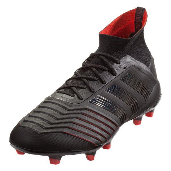 630f3669f adidas Predator 19.1 FG Soccer Cleat Core Black Core Black Active Red-6.5