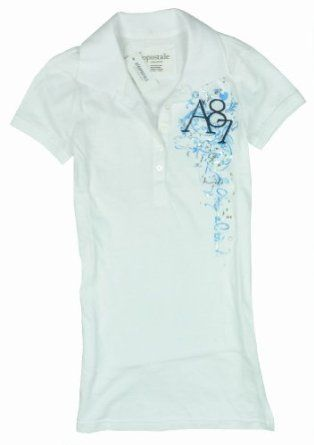 Aeropostale Juniors Polo Shirt - Bleach White - S Aeropostale. $17.99