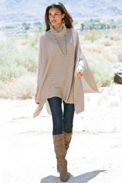 Love my poncho wraps - need one like this, with the cowl neck.
