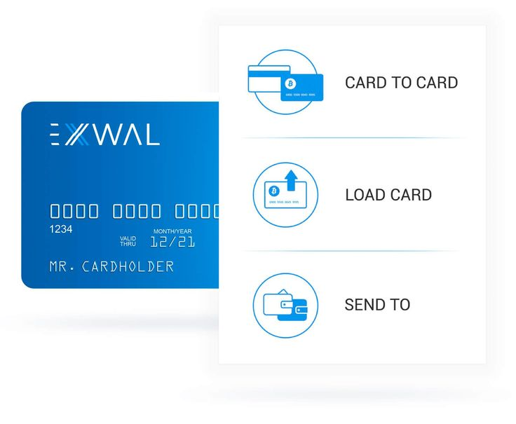 Spend your digital money anywhere with virtual or plastic bitcoin debit card or ether debit card. Switch between crypto and fiat currencies in an instant or make transactions through online wallet.