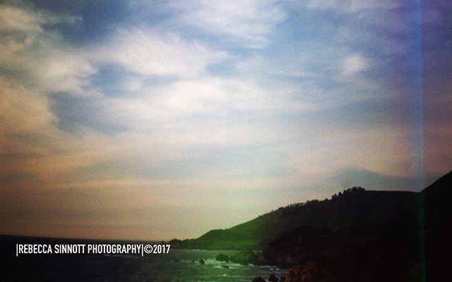 #holga #film #35mm #royalsnappingartists #justgoshoot #mountains #bigsur #sky #clouds #follow #sunset #lightleak #instagood #instadaily #instalike #follow #nature #love #beautiful #bestoftheday #beach @jimmy_ahern #calocals - posted by |Rebecca Sinnott Photography|© https://www.instagram.com/beccasinnottphto - See more of Big Sur, CA at http://bigsurlocals.com
