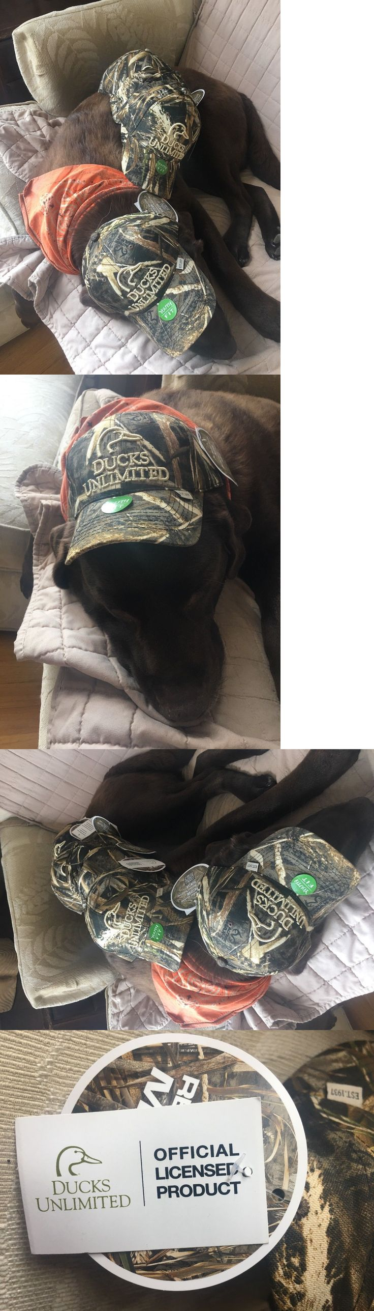 Other Kids Clothing and Accs 175640: Lot Of 6 Youth Boys Outdoor Caps Ducks Unlimited Camo Hats Adjustable New -> BUY IT NOW ONLY: $39.99 on eBay!
