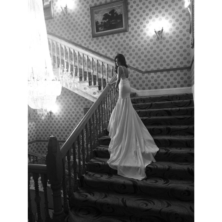 Look no.2 for Kirsty Doyle Bride Mel. Here the gown is shown without the detachable tulle belt. #kirstydoyle #bespoke #bride