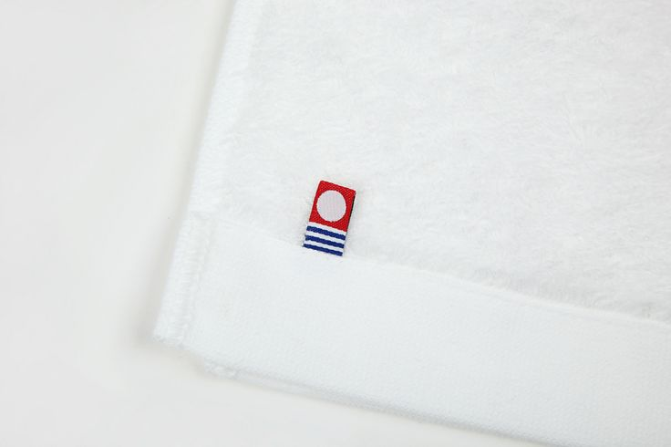 This is certificated label by Imabari towel association