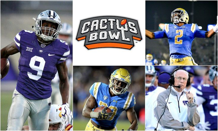 Kansas State vs UCLA Preview This matchup is becoming a welcomed staple in college football bowl games.Three years after UCLA held off the Wildcats 40-35 in the 2014 Alamo Bowl, the teams will renew the rivalry in the 29th Cactus Bowl at Chase Field, the home of the Arizona Diamondbacks that becomes a football
