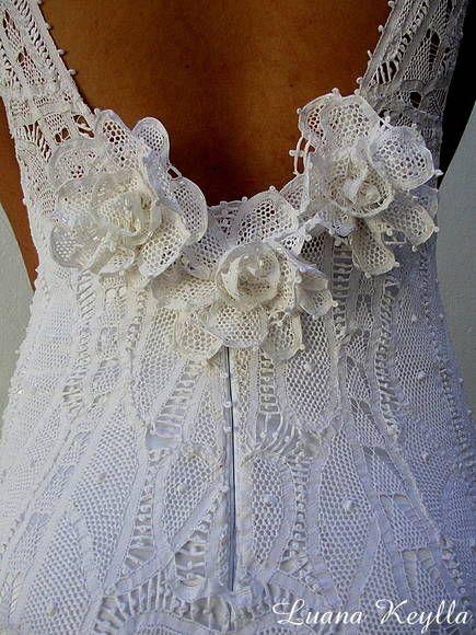 vestido de noiva renda renascença - Pesquisa Google