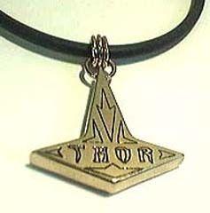 Bronze thor 3000 hammer pendant