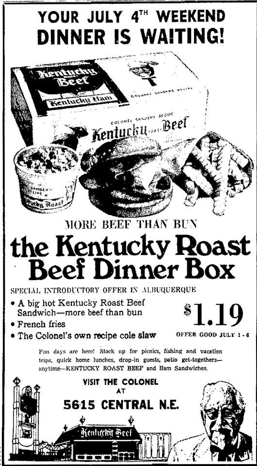 kentucky fried kfc fried chicken vintage ads advertising mary vintage advertisements