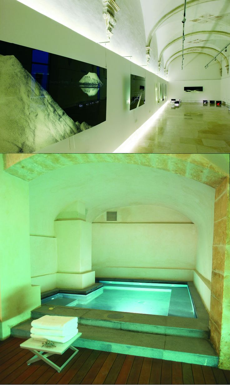 Convent de la Missió | Boutique Hotel | Palma de Mallorca | Spain | http://lifestylehotels.net/en/convent-de-la-missio | wall art, curved ceiling, pool, relax, luxury, minimalistic, wellness