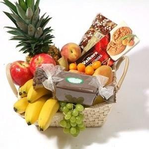 Food basket delivery to Belgium