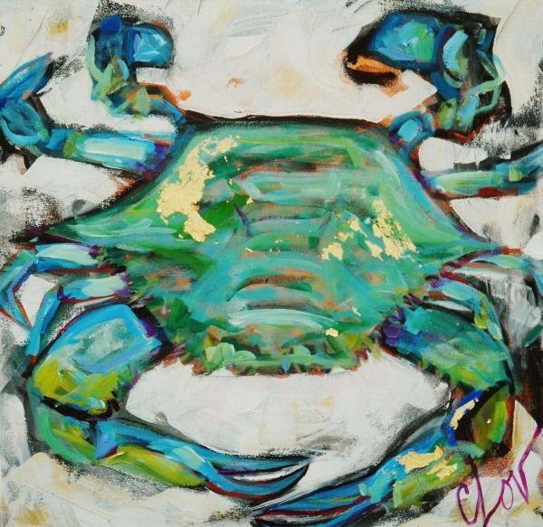 Oil Paintings Of Crabbing