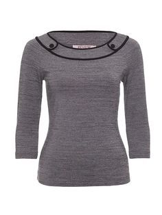 Chrissie 3/4 Sleeve Top | Tops | Review Australia