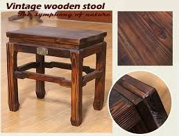image result for taburete de madera antiguo