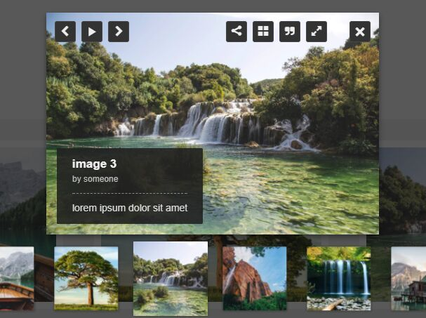Powerful Gallery Popup Plugin With jQuery - LC Lightbox