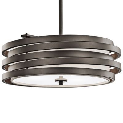 Roswell Drum Pendant by Kichler at Lumens.com