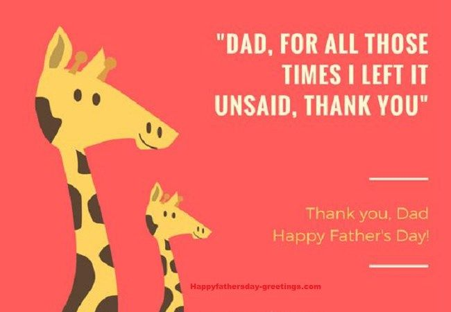Fathers Day 2018 Thank You Cards from Son...