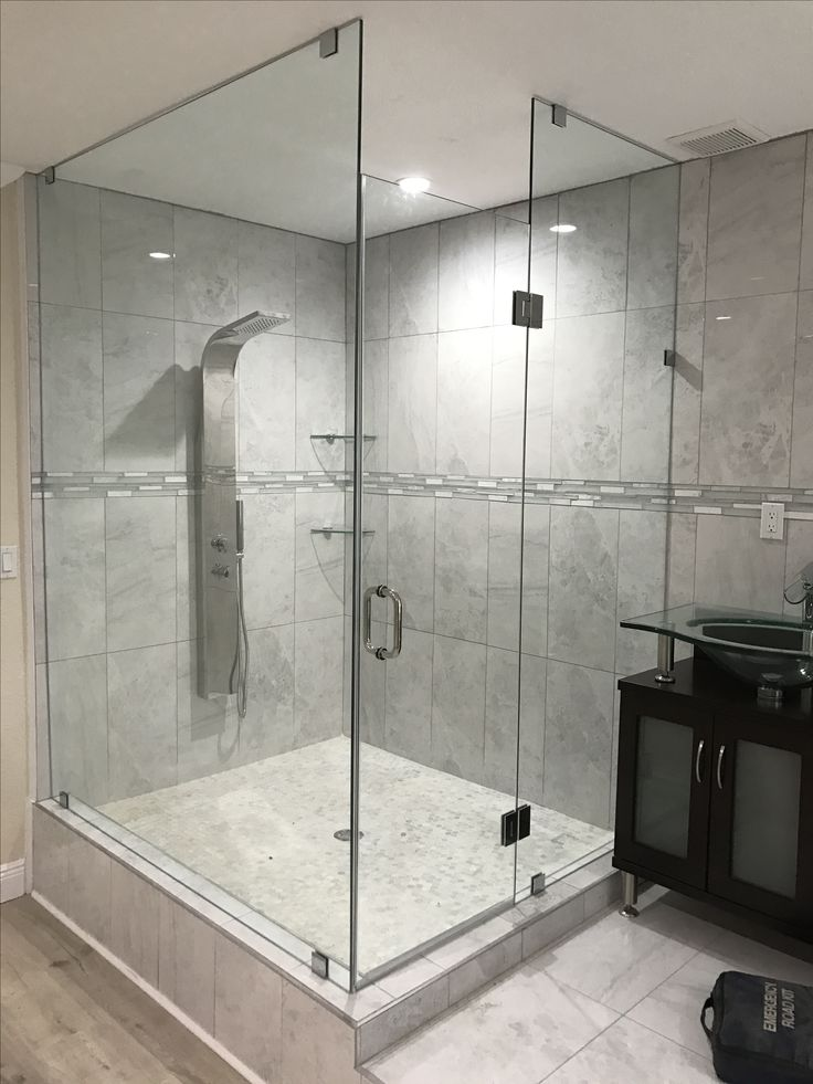 26 best Frameless Shower Doors 90 Degree Shower images on ...