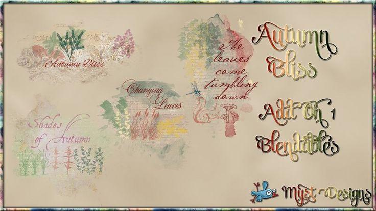 Autumn Bliss - AO1 - Blendables