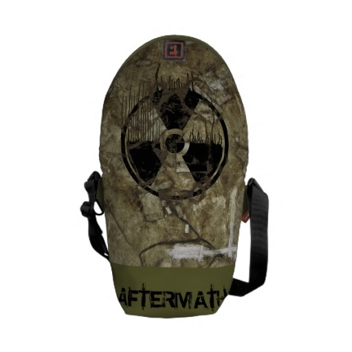 AFTERMATH MESSENGER BAG. A Post-apocalyptic, fully customizable design by BannedWare.