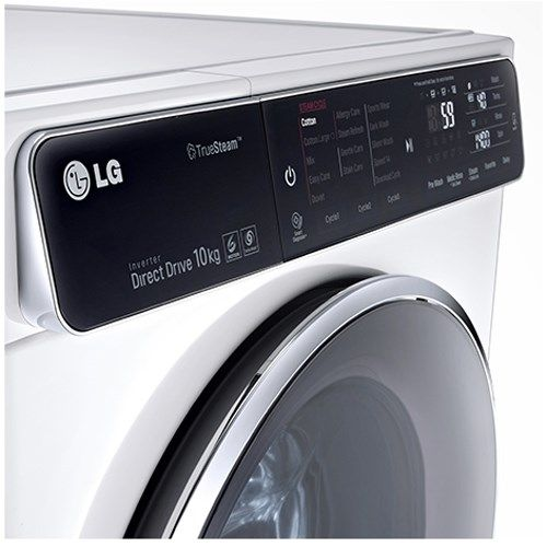 LG F14U1JBS2 10kg 1400rpm Freestanding Washing Machine - White | Appliances Direct