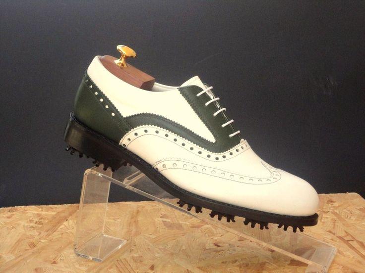 EUCALYPTUS - #scarpe da #golf  sono realizzate in viello pinofiore