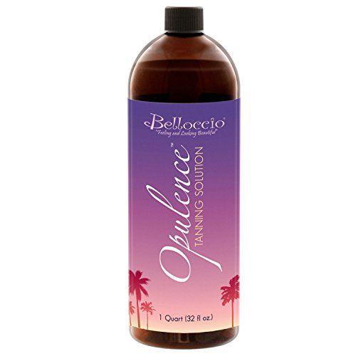 belloccio spray tan solution