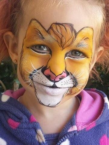 199 best images about Face paint cat on Pinterest   Kitty ...