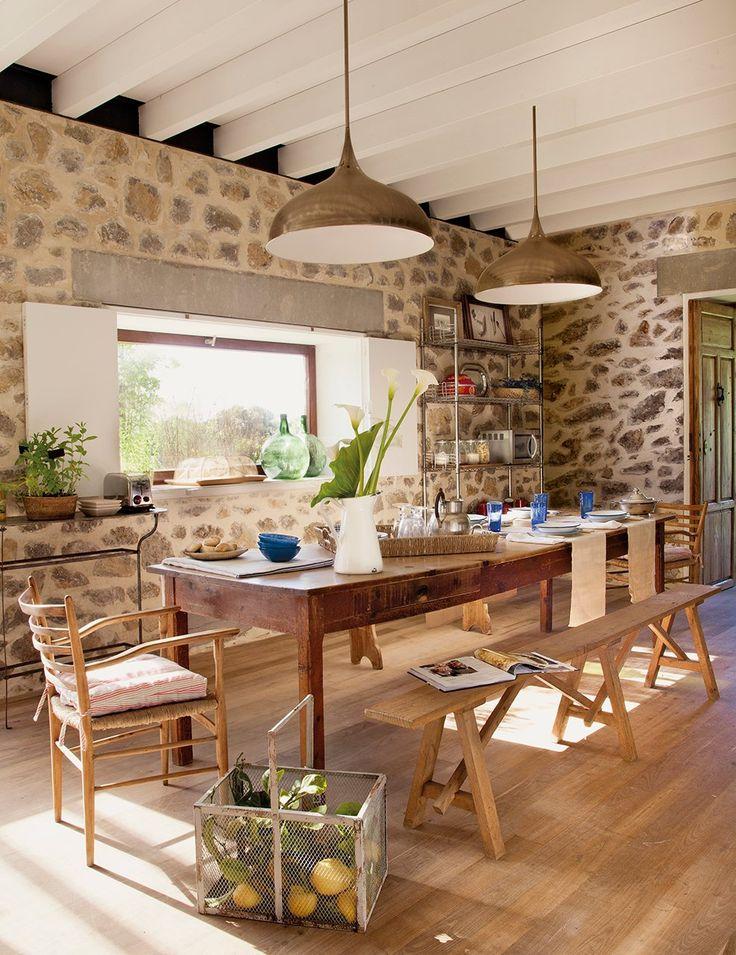 Una bella casa asturiana rescatada de las ruinas · ElMueble.com · Casas